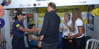 Estande do Detran/TO Visita do Presidente Eudilon Donizete