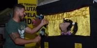 Estande do Detran/TO Entrevista de TV Local