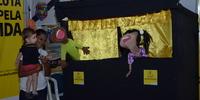Estande do Detran/TO Teatro de Fantoches