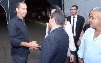 Visita do Prefeito Joaquim Maia e Presidente Eudilon Donizete