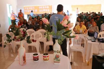 Ciclo de palestras iniciou a programação do segundo dia do Educa Sanear em Santa Tereza