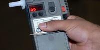 Estande do Detran/TO com Instruções Sobre o Teste do Bafômetro
