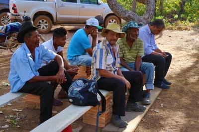 Moradores do assentamento, localizado a cerca de 50 km da zona urbana de Dianópolis