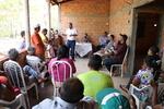 Presidente da ATS fala a comunidade sobre medidas para combater a seca da região