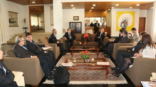 Os aspectos financeiros do projeto Tocantins Agro foram debatidos com membros da Agência de Cooperação Internacional do Japão (Jica), presente no encontro