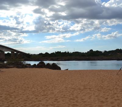 Praia do Pé da Ponte - Aguiarnópolis