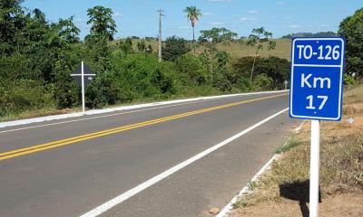 Governador Marcelo Miranda inaugura nesta sexta-feira, 7, obras de reconstrução da pavimentação asfáltica, melhorias no sistema de drenagem e na sinalização da TO-126, no Bico do Papagaio