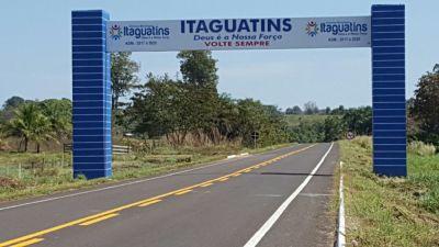 O trecho que recebeu nova pavimentação asfáltica, melhorias no sistema de drenagem e na sinalização, totaliza 25,23 quilômetros e liga Sítio Novo à Itaguatins