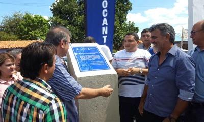 Marcelo Miranda descerrou a placa de inauguração em Sítio Novo e entregou o trecho da Rodovia TO-126 entre a cidade e Itaguatins completamente reformado