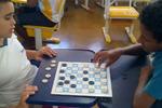 Estudantes da Escola Estadual Joaquim Lino Suarte aprendem matemática com jogos