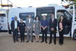 Entrega reuniu autoridades locais, como a secretária Gleidy Braga e o juiz Manuel Faria Reis Neto.