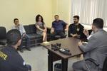 Apresentação foi realizada pela secretária Gleidy Braga, o superintendente do Penitenciário Prisional, Renato Mendes, e equipe técnica.