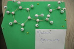 Molécula de adrenalina