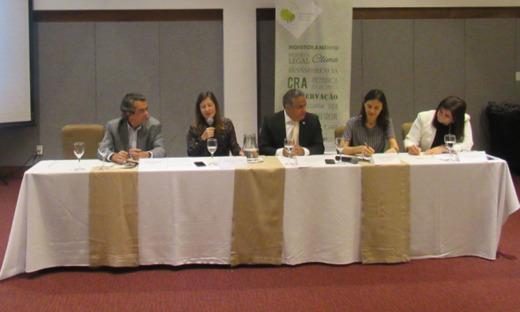 Representantes do Matopiba debatem avanços do Código Florestal em São Luís (MA)