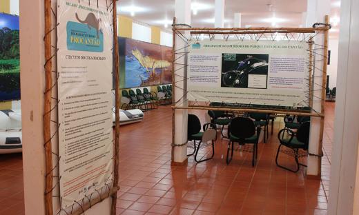 O complexo do Parque Estadual do Cantão conta com um Centro de Recepção do Turista, auditório para palestras e exibição de vídeos e atendimento informativo sobre os projetos de preservação da região
