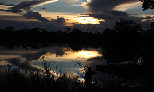 Ao cair da tarde, o visitante pode apreciar um por do sol deslumbrante às margens dos rios do Coco, Javaés e Araguaia