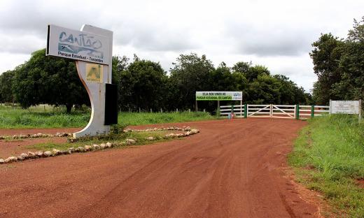 O Cantão fica no estado do Tocantins e é uma região de transição que abriga três ecossistemas: cerrado, floresta amazônica e pantanal