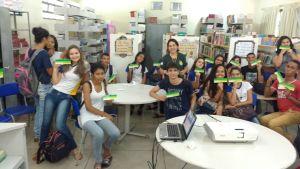 Alunos de um colégio de Palmas recebem capacitação