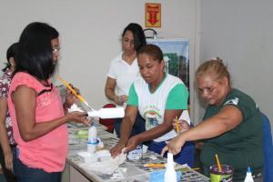 Educação Ambiental leva oficina à comunidade