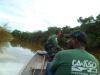 As fiscalizações tiveram apoio do Batalhão de Polícia Militar Ambiental