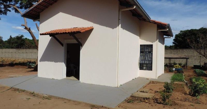 Capela do Case recebeu reformas para atender socioeducandos da unidade.