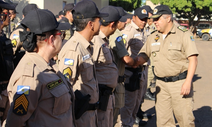 Comandante Geral da PM visita unidades operacionais no interior do estado.JPG