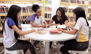 O projeto tem como objetivo incentivar a leitura entre os estudantes