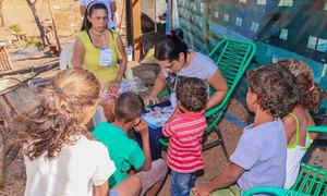 Programa vai atender 17 famílias na Aldeia Indígena Porteira