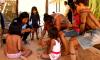 A Aldeia Porteira, no município de Tocantínia, a 85 Km de Palmas, foi a primeira comunidade indígena no país a receber as visitas domiciliares previstas pelo Programa Criança Feliz