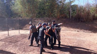 Servidores de unidades prisionais recebem reforço em treinamento. Credito Espen_400.jpg
