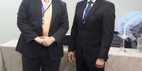 Procurador geral Sérgio do Vale e o procurador Kledson Moura