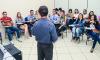 Neste ano, 900 pessoas assistiram a palestras e 1.300 já foram capacitadas em cursos profissionalizantes promovidos pelo Sine