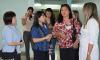 Duas representantes da Agência de Cooperação Internacional do Japão realizaram uma visita técnica à unidade