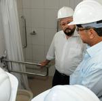 Segundo o secretário de Estado da Saúde, Marcos Musafir, as vistorias são indispensáveis para os ajustes necessários das obras