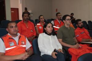 Defesa Civil de Palmas marca presença no evento