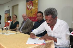 Assinatura do documento faz parte de Força Tarefa solicitada pelo Governo do Estado
