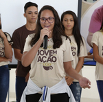 Para a aluna Giovana o aprendizado da escola integral será levado para toda a vida