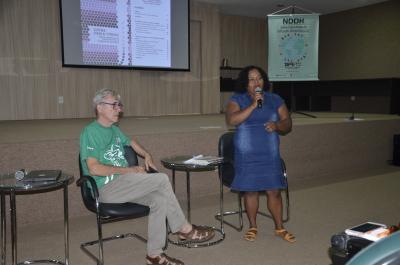 Brígida Rocha explica como foi realizada a pesquisa nos quatro Estados.