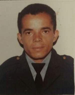 Soldado Gilberto Bequiman morto em serviço.