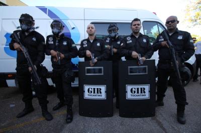 Grupo é mais uma estratégia para garantir a segurança das unidades prisionais do Tocantins.
