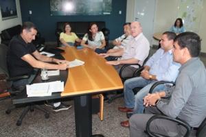A assinatura do contrato para o início da construção do novo prédio, ocorreu nesta quinta-feira, 10