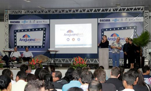 Claudia Lelis ressaltou a importância de Araguaina como polo de desenvolvimento para região norte