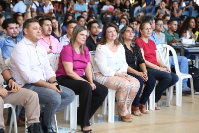 Comemoração do dia do estudante na rede estadual de educação