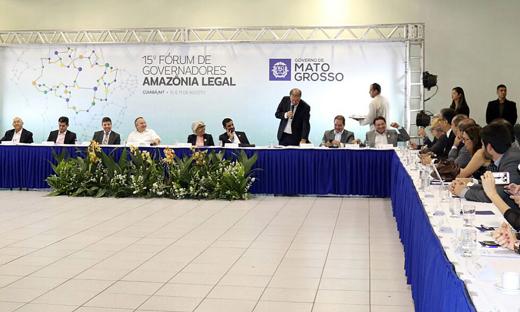 Um dos principais pontos foi a unanimidade em torno da implantação do Consórcio Interestadual de Desenvolvimento Sustentável da Amazônia Legal