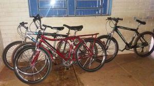 Bicicletas furtadas e recuperadas.