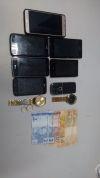 Material roubado e recuperado pela PM em Araguaína.