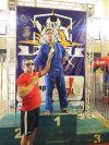 Sgt Gugliemo conquista medalha de ouro pela equipe do projeto Dojo de Ouro.