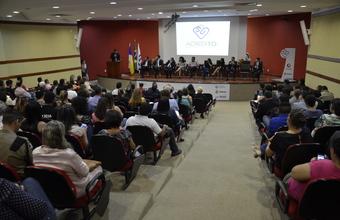Evento de lançamento ocorreu na manhã desta quarta-feira, 16, no auditório do MPE.