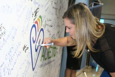 Vice-governadora Claudia Lelis fez o compromisso de levar o Projeto Piloto para todo o Tocantins.