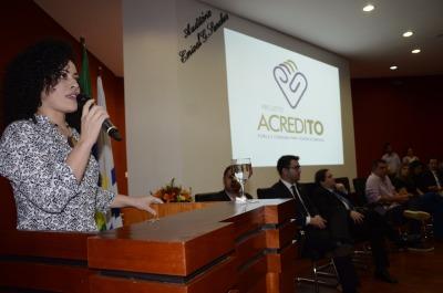 A presidente do Conesd, Gleidy Braga, disse que para dar certo é preciso se unir.